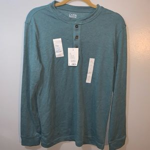New croft & Barrow Henley shirt small